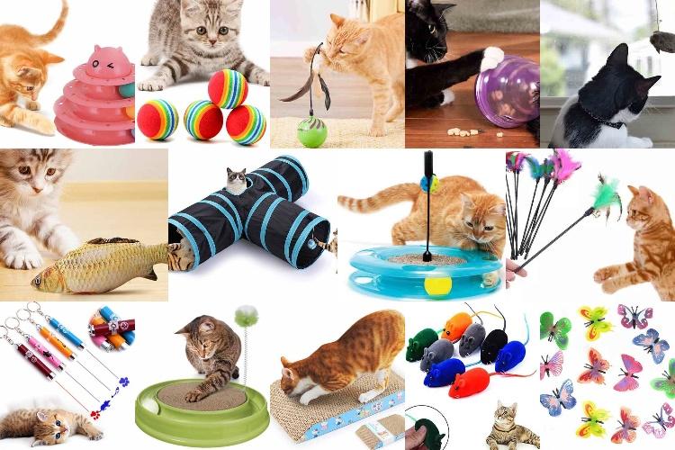 14 Rekomendasi Mainan Kucing Terlaris Paling Dicari