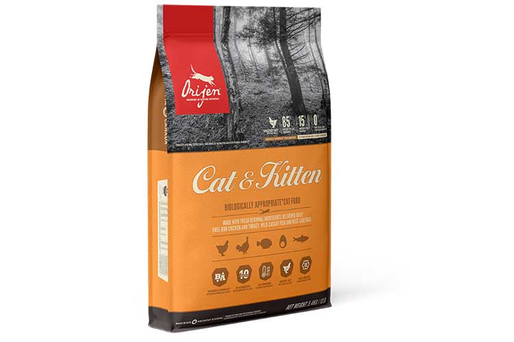 Makanan Kering Kucing Orijen Cat & Kitten