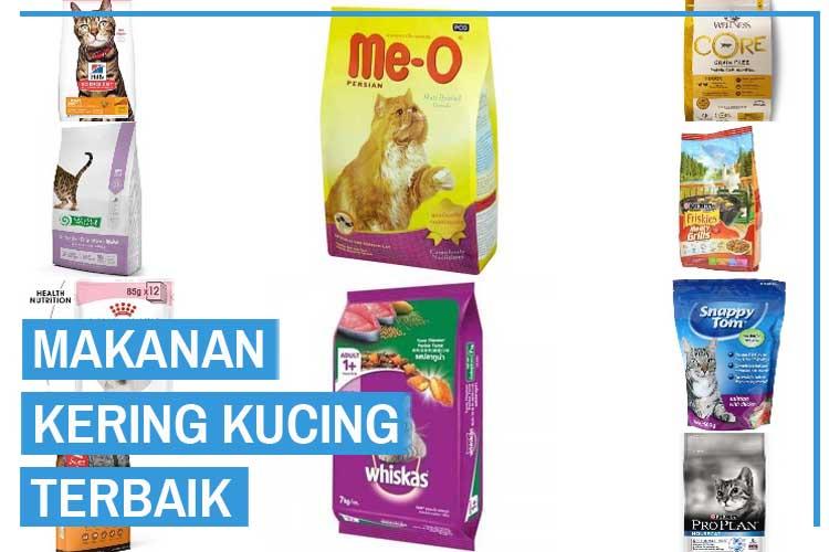 10 Rekomendasi Makanan Kering Kucing (Dry Food) Terbaik