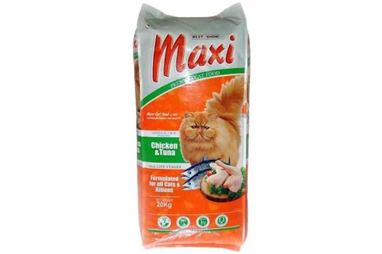 Makanan Kucing Merk Maxi