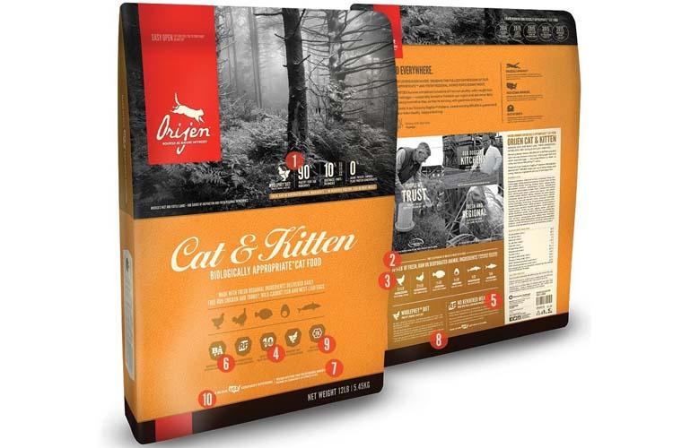 Merk Makanan Kucing Orijen Cat & Kitten