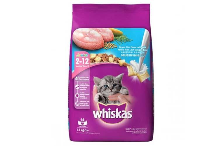 Makanan Kucing Terbaik Merk Whiskas