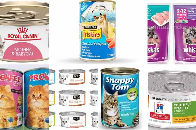 Makanan Basah Kucing Siam
